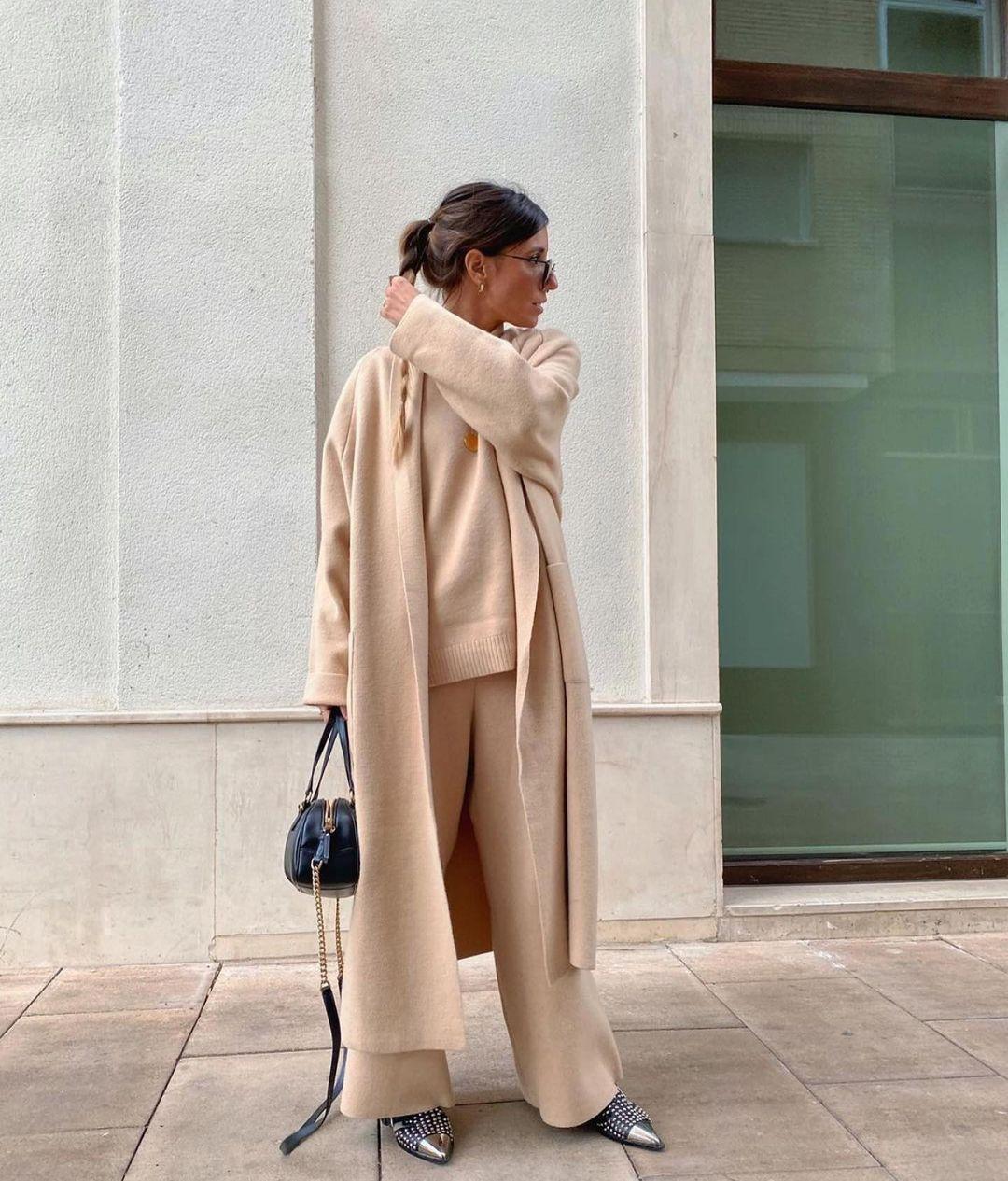 knitted waistcoat de Zara sur zara.outfits