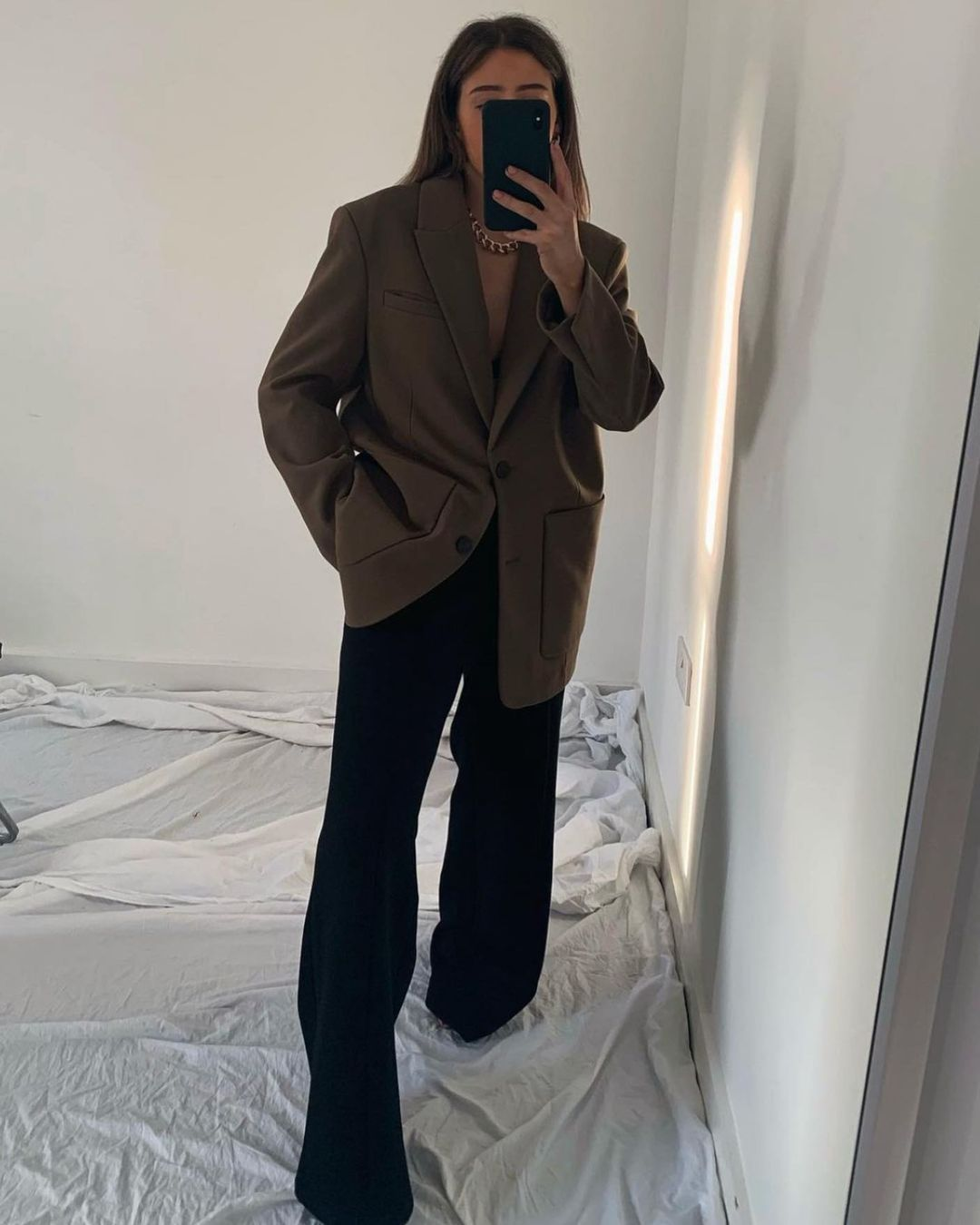 extra long jacket de Zara sur zara.style.daily