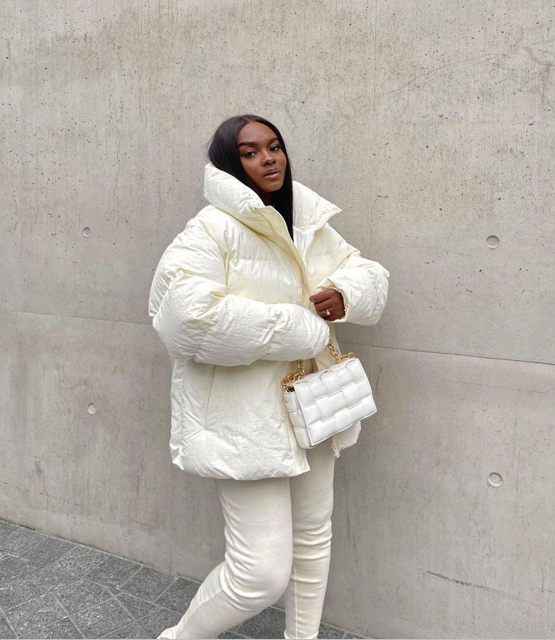 boxy padded jacket unisex unit. 01 de Zara sur zara.style.daily