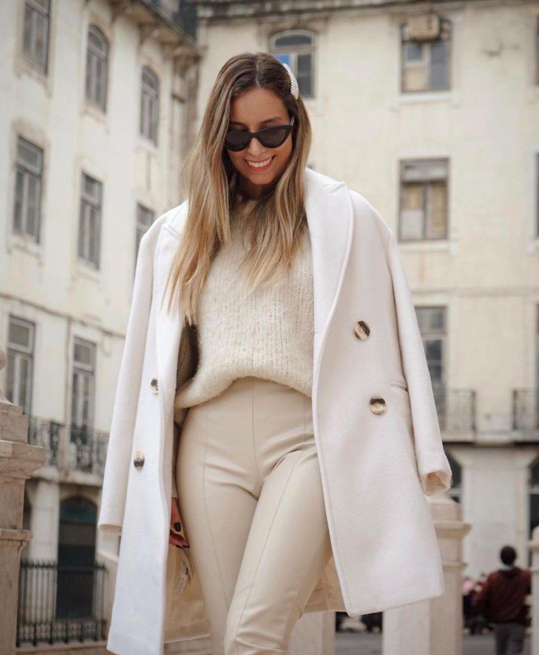 legging en cuir synthétique de Zara sur zara.outfits