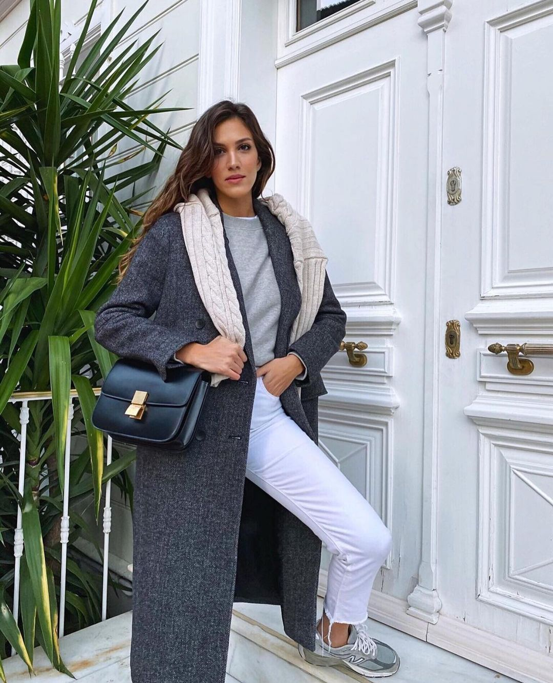 manteau masculin avec laine de Zara sur zara.outfits