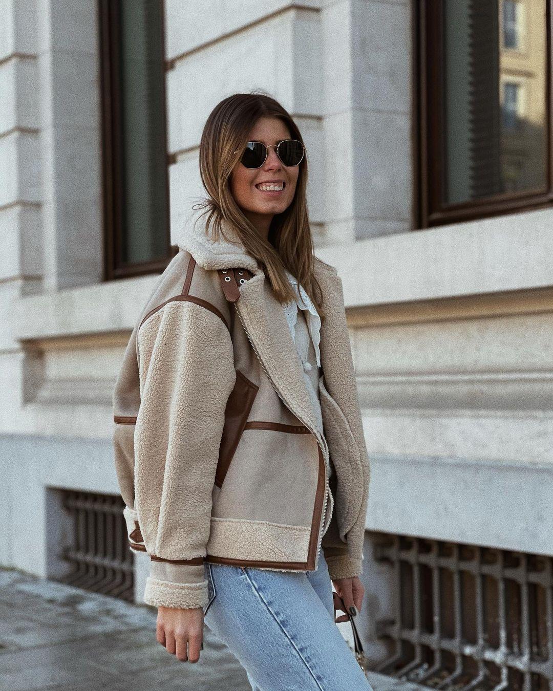 bi-aterial jacket de Zara sur nooomsworld