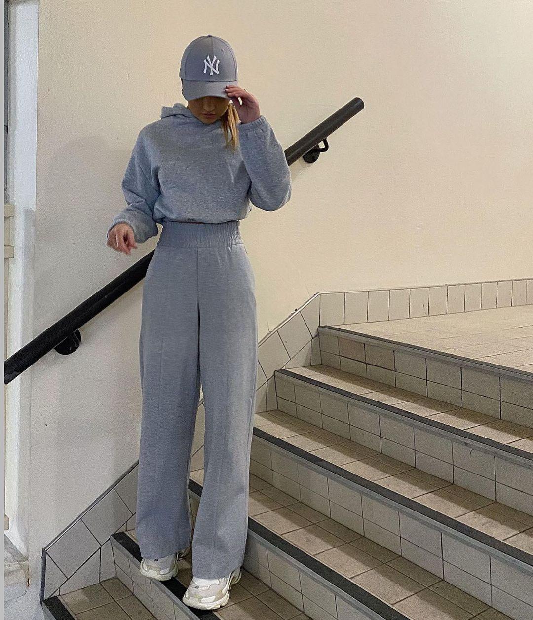 wide fleece pants de Zara sur zara.style.daily
