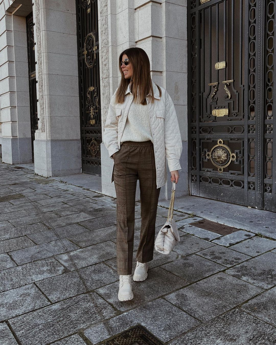 trousers gala de Mango sur nooomsworld