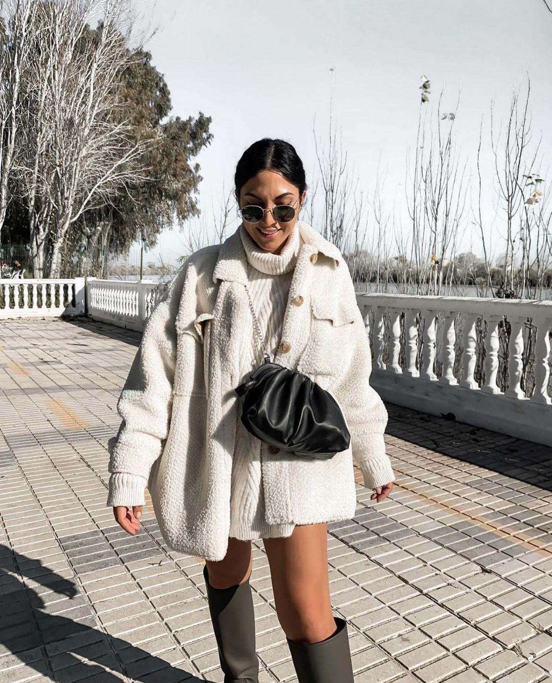 bottes plates gommées de Zara sur zara.outfits