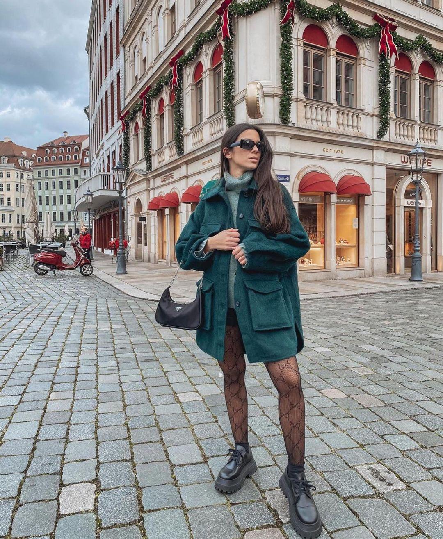 chaussures plates derbys compensées de Zara sur zara.outfits
