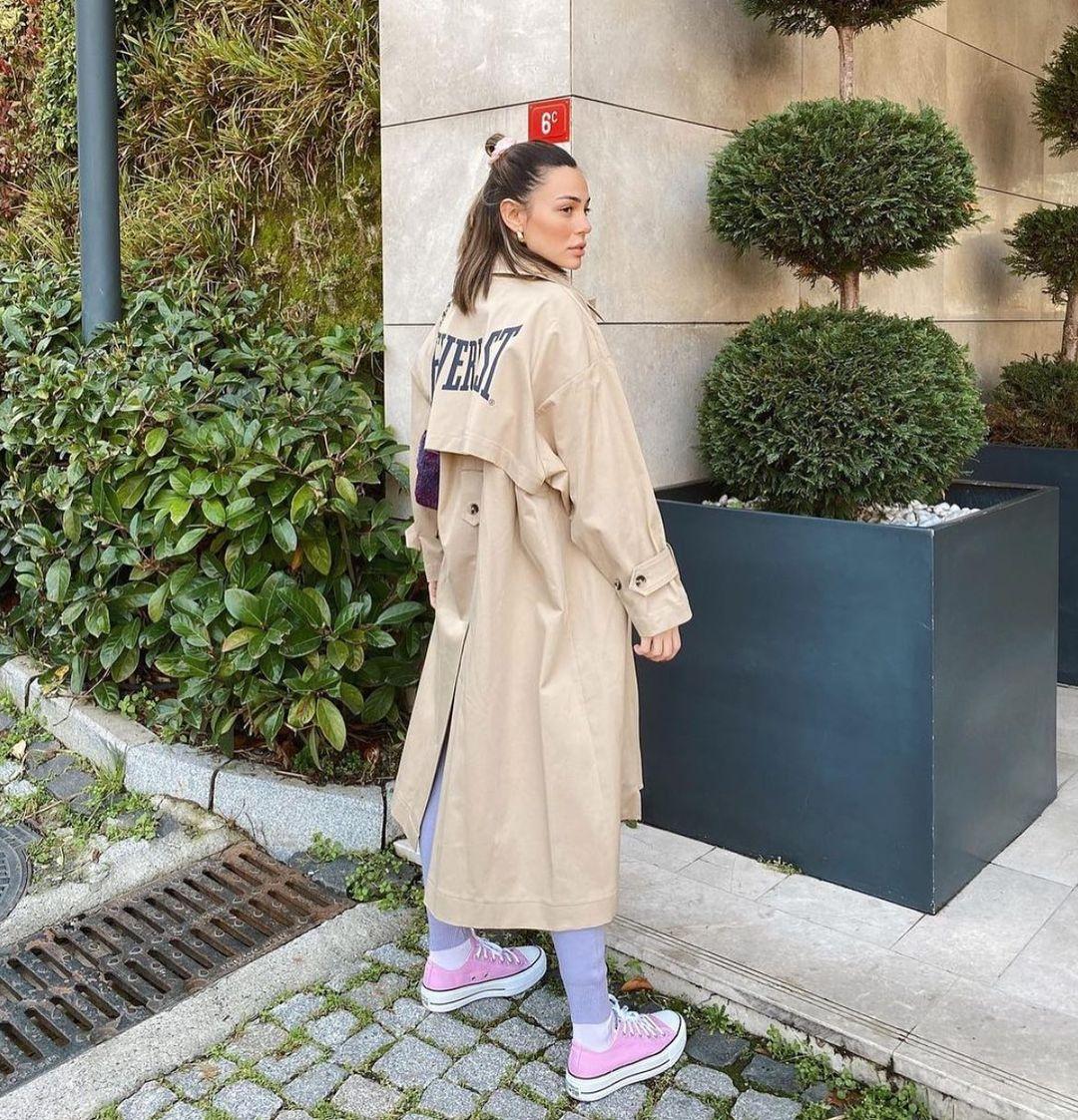 everlast® trench coat de Zara sur zara.style.daily