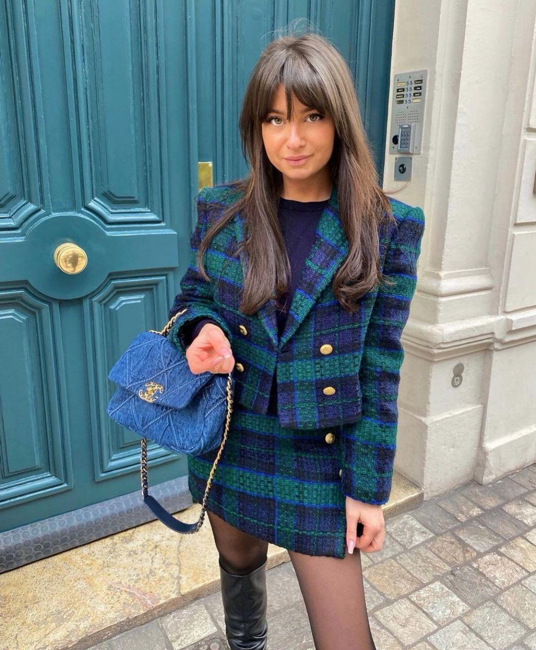 cropped button blazer de Zara sur zarastreetstyle
