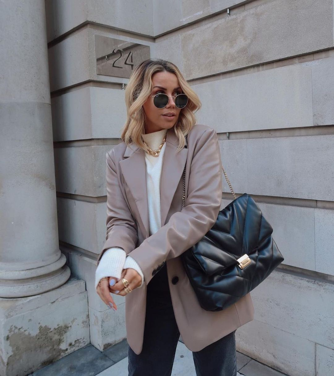 maxi quilted crossbody bag de Zara sur zaraaddiction