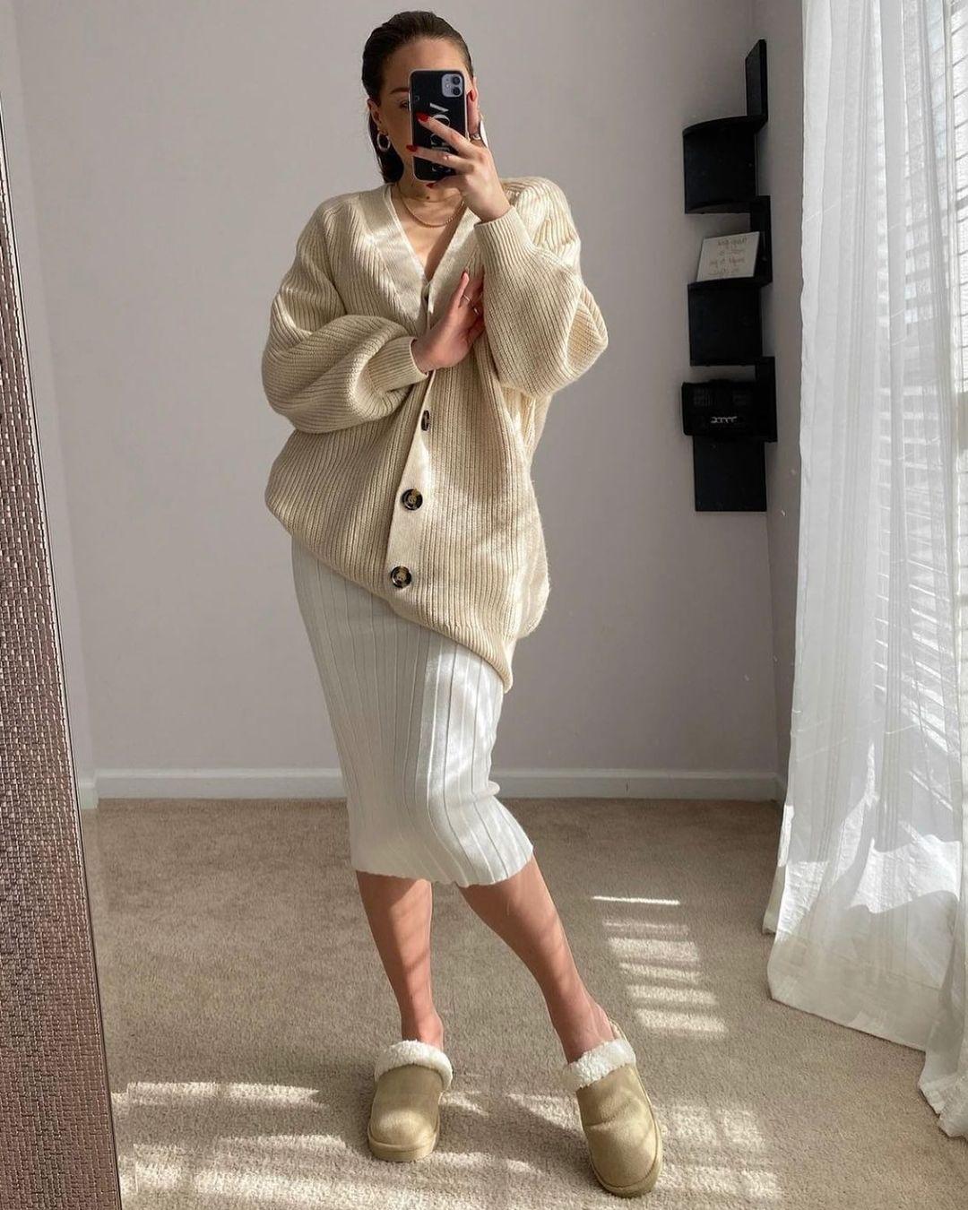 rib-knit cardigan de H&M sur hm.addicted