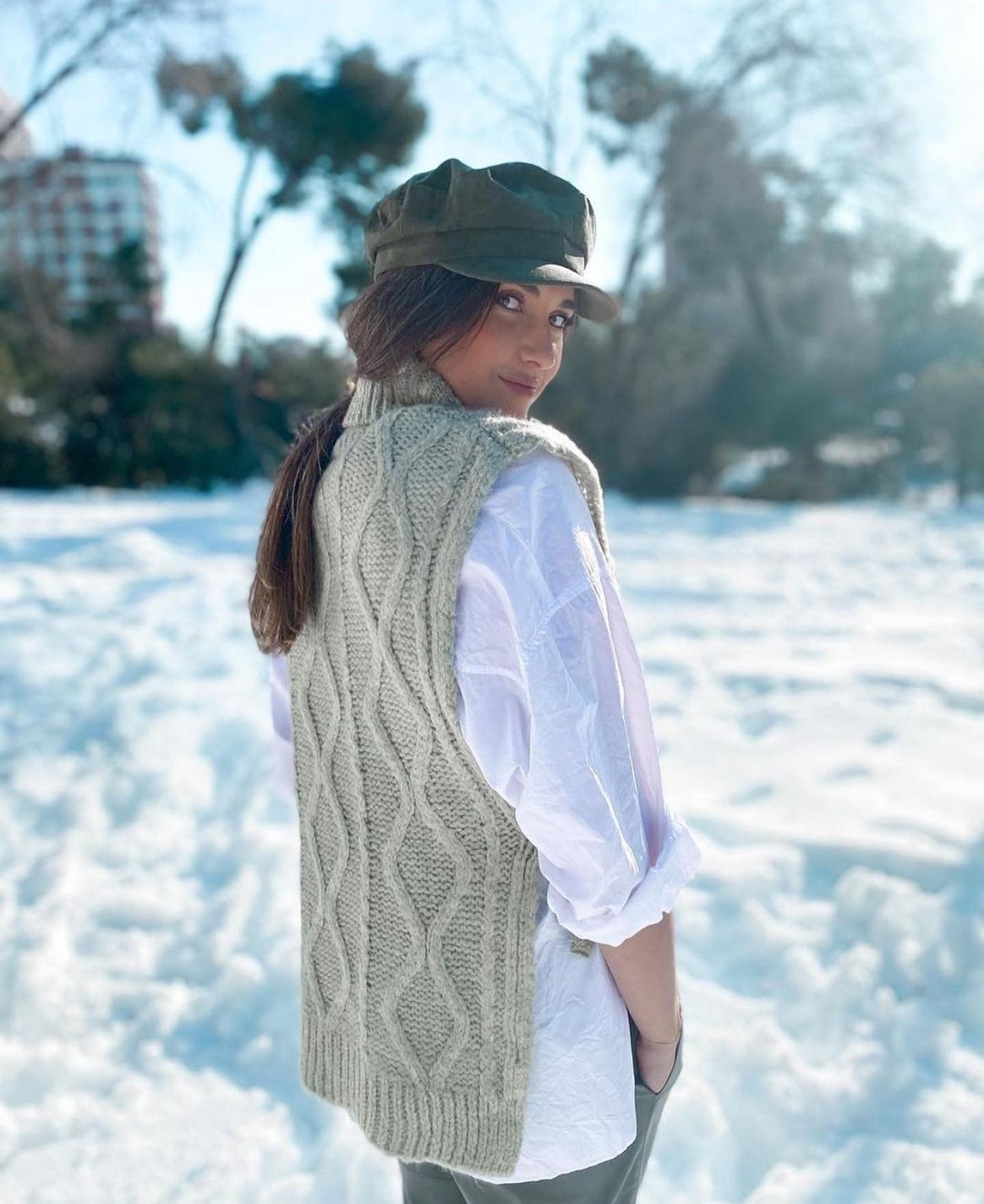 waistcoat manati de Mango sur zara.outfits