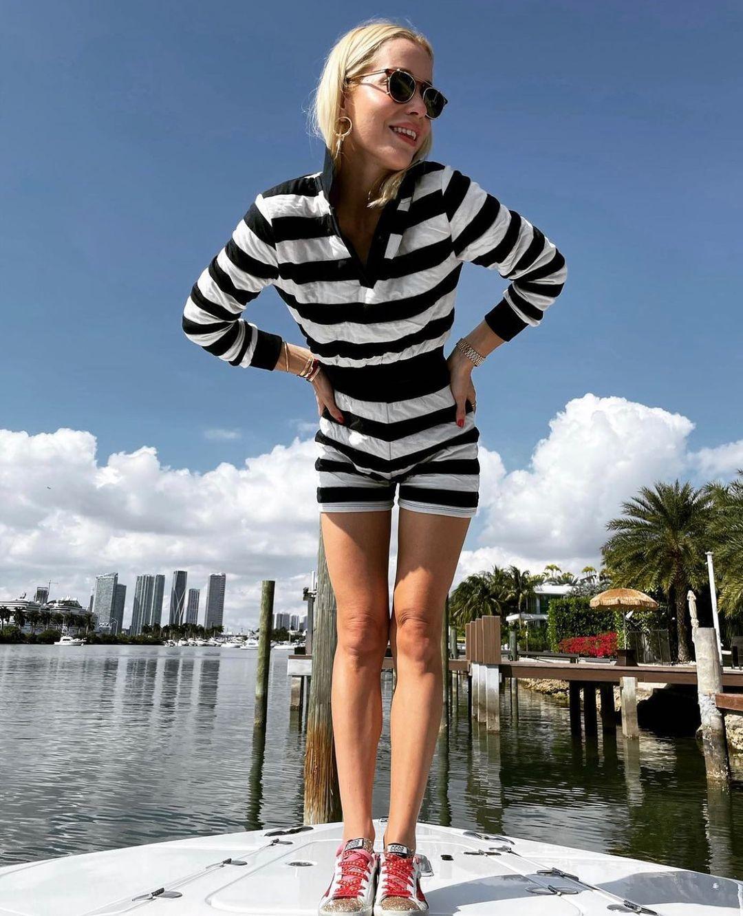 striped jacquard sweatshirt de Zara sur zarastreetstyle
