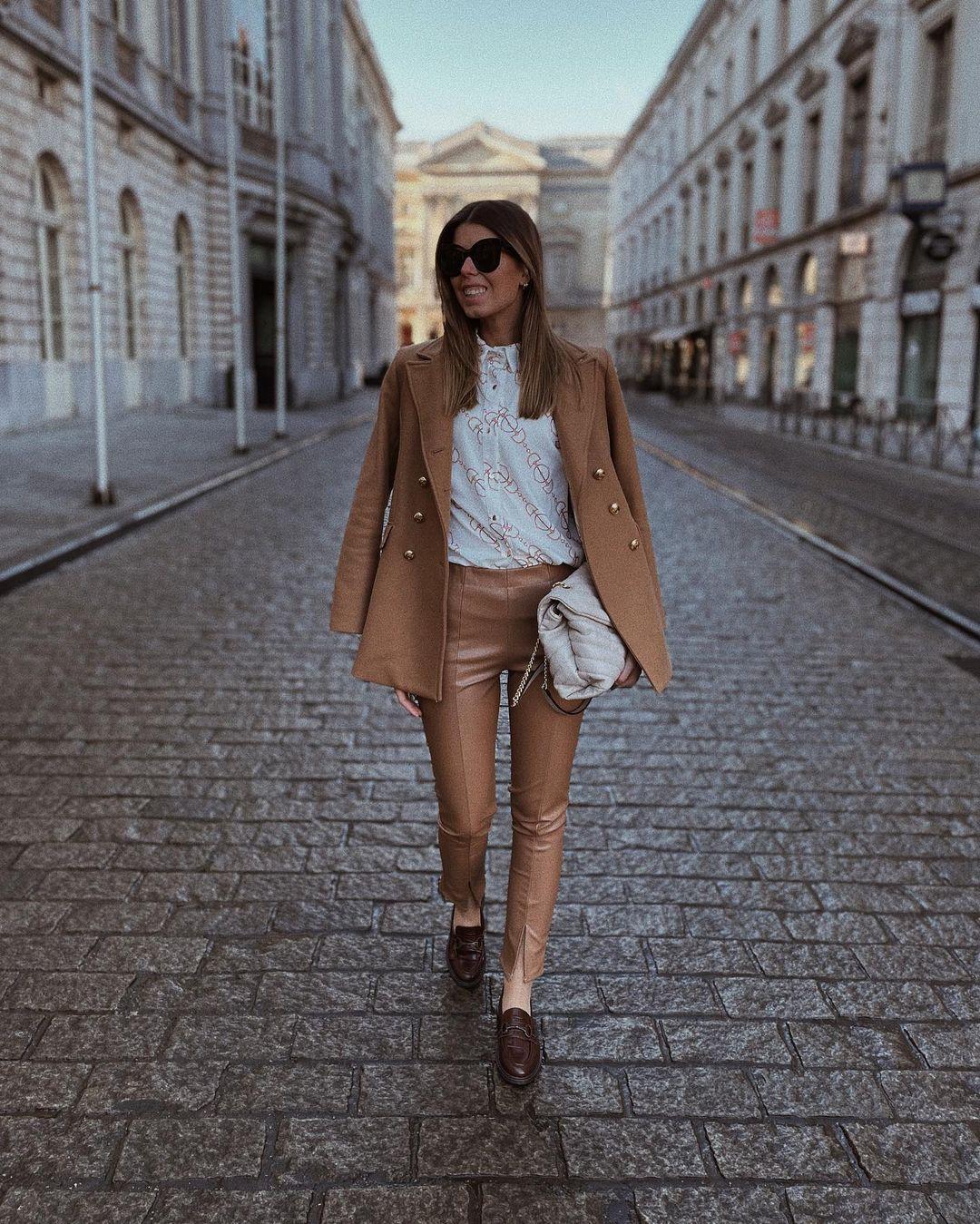 button jacket de Zara sur nooomsworld