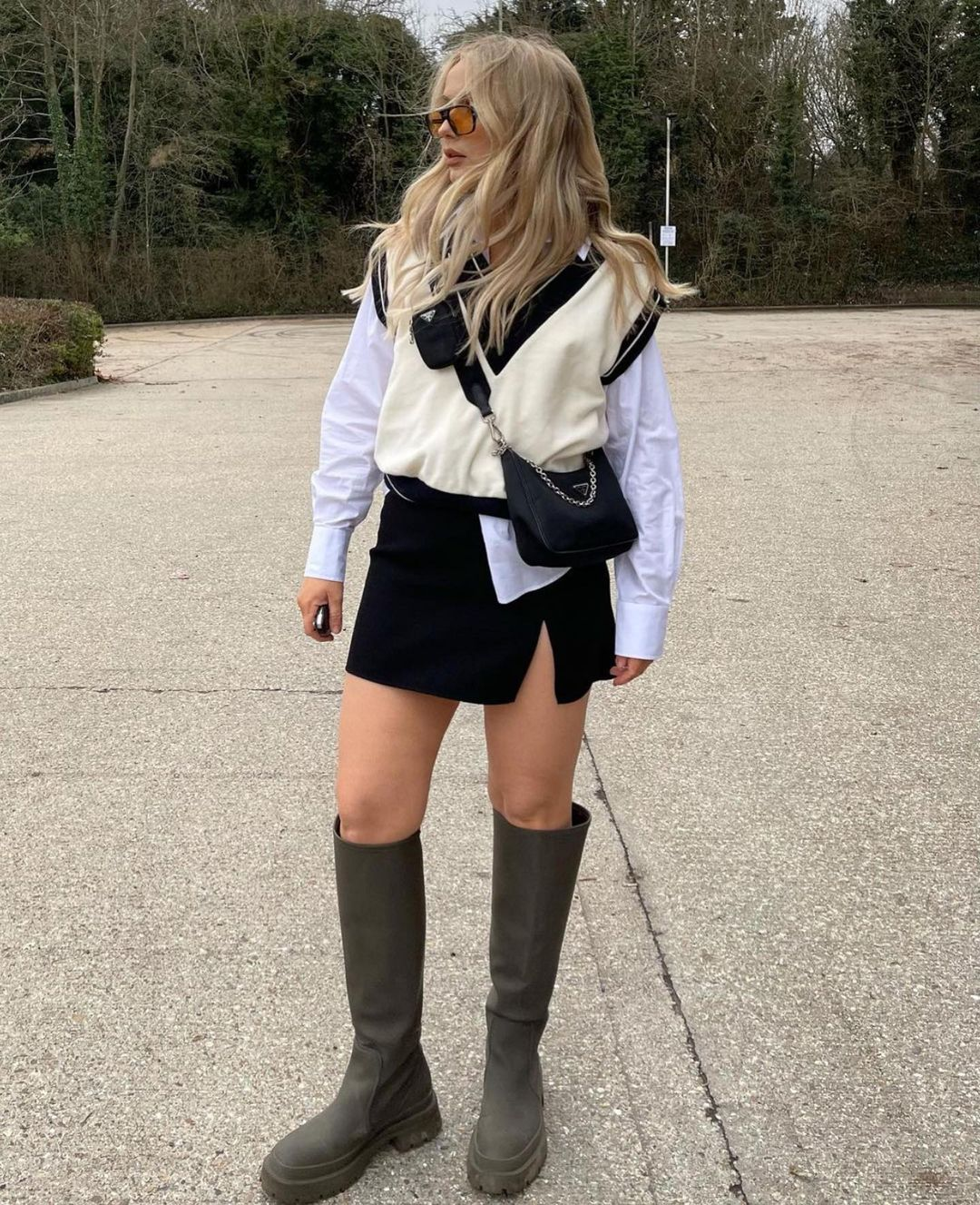 gilet avec rib de Zara sur zara.outfits