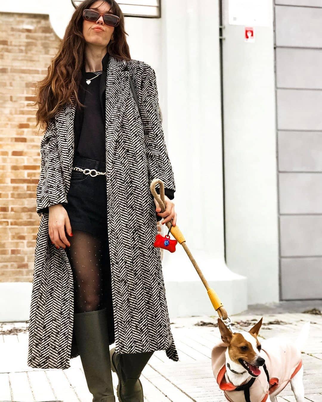 gummed flat boots de Zara sur mango.outfits