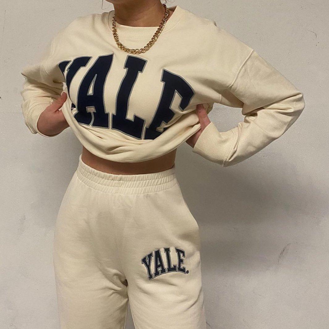 yale™ university sweatshirt de Zara sur zara.style.daily