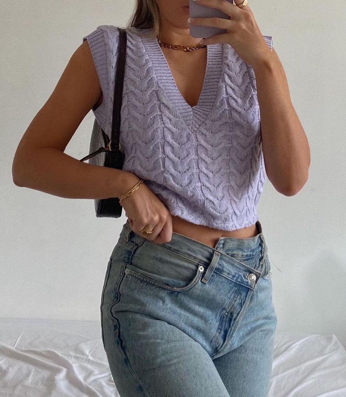 sleeveless top with twists de Zara sur zara.style.daily