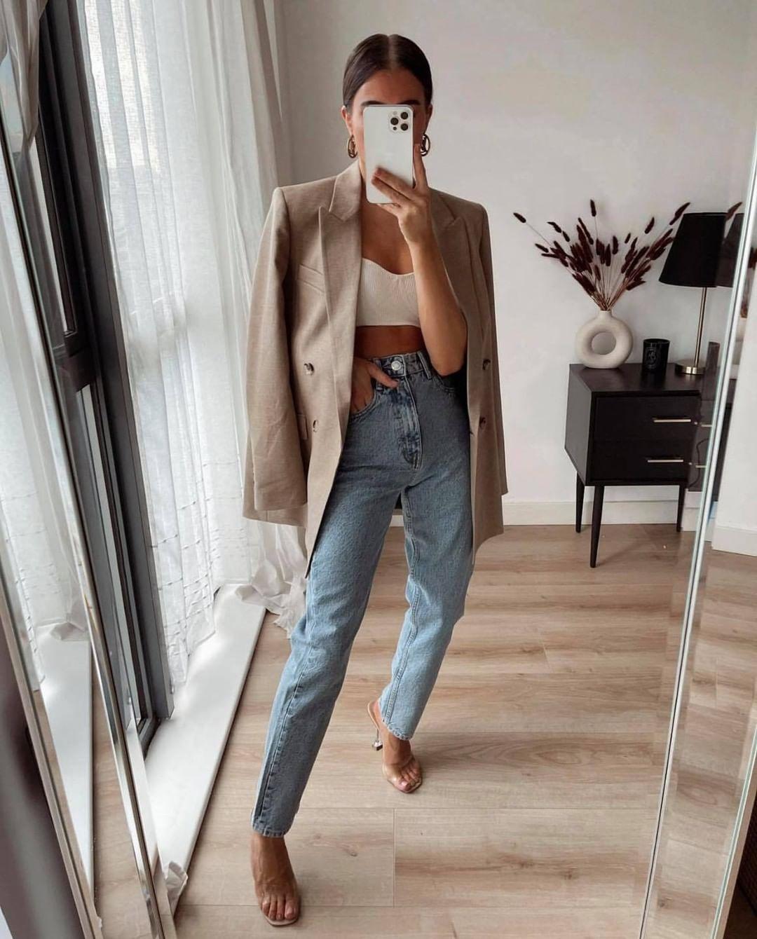 veste oversize avec lin de Zara sur zara.mania