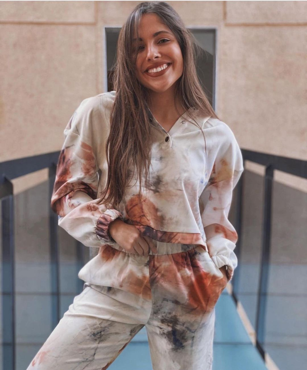 sweat cropped tie & dye de Zara sur zara.outfits