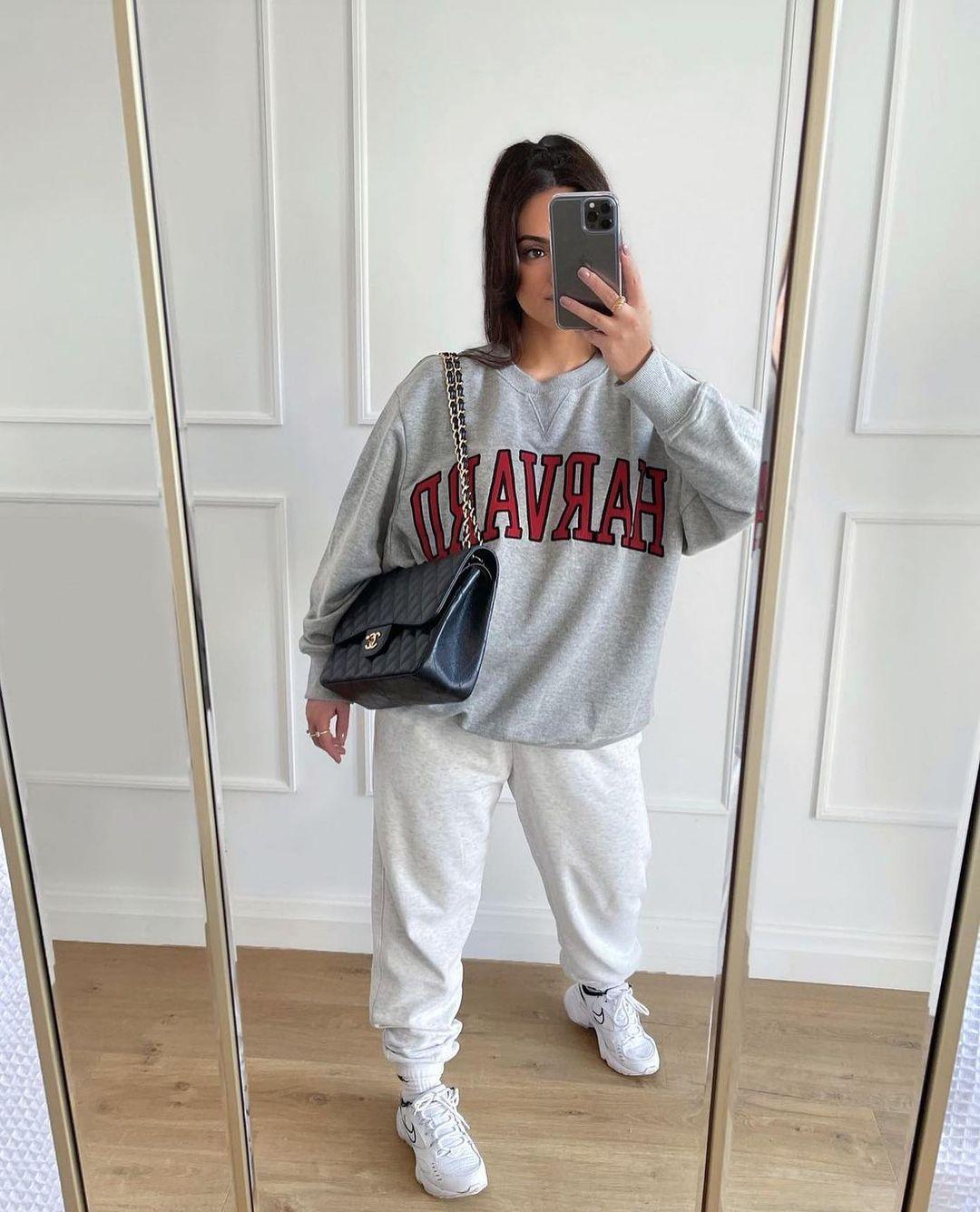 harvard® university sweatshirt de Zara sur zarastreetstyle