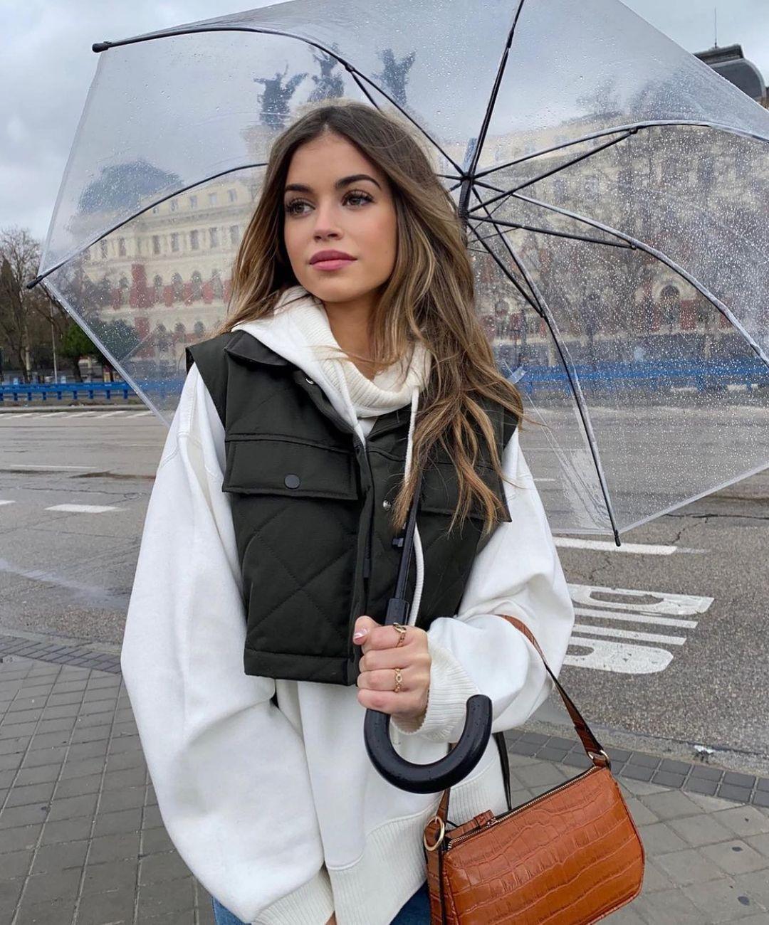 padded cropped vest de Zara sur zarastreetstyle