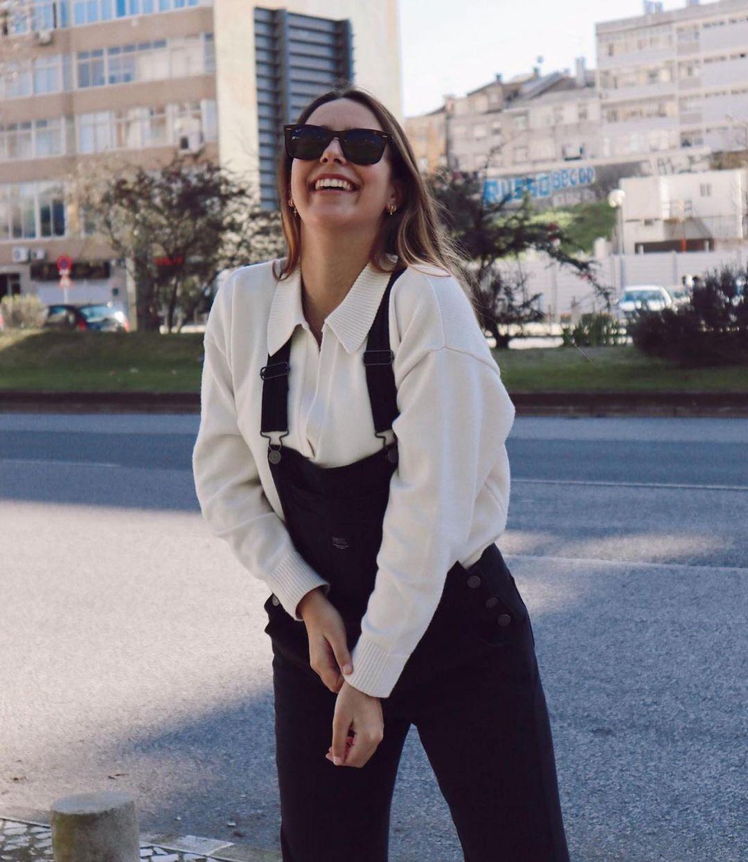 salopette en jean de Zara sur zara.outfits