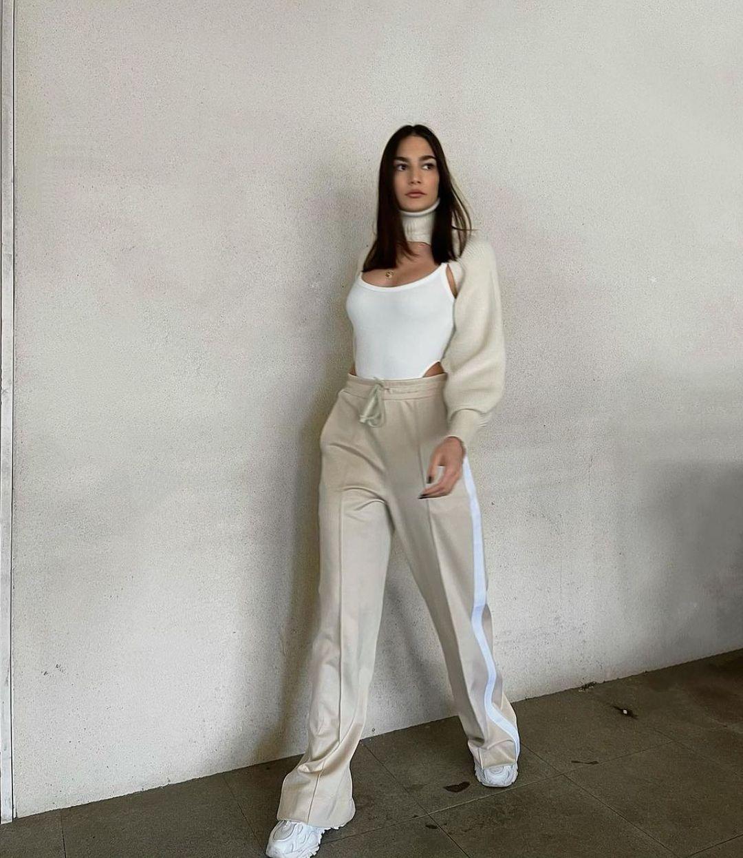 ribbed bodysuit de Zara sur zara.style.daily