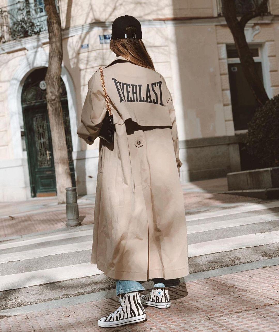 everlast® trench coat de Zara sur zaraaddiction