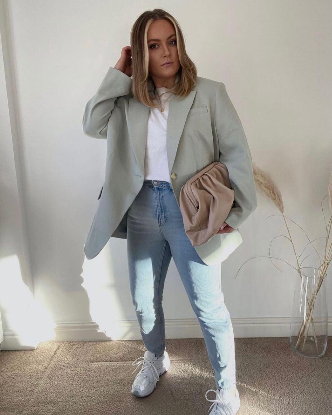 oversized blazer de H&M sur hm.addicted