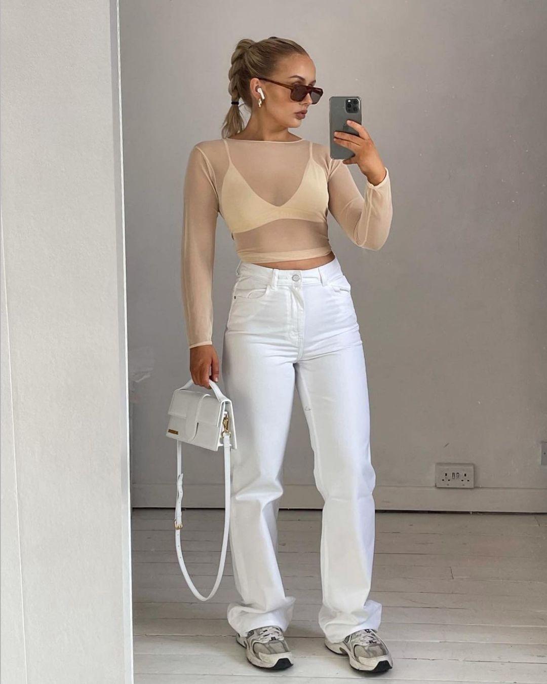 zw premium wide jeans de Zara sur zara.style.daily