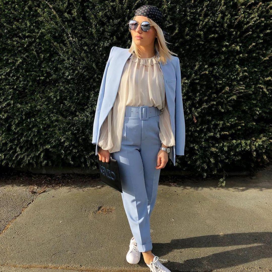 lapel jacket de Zara sur zarastreetstyle