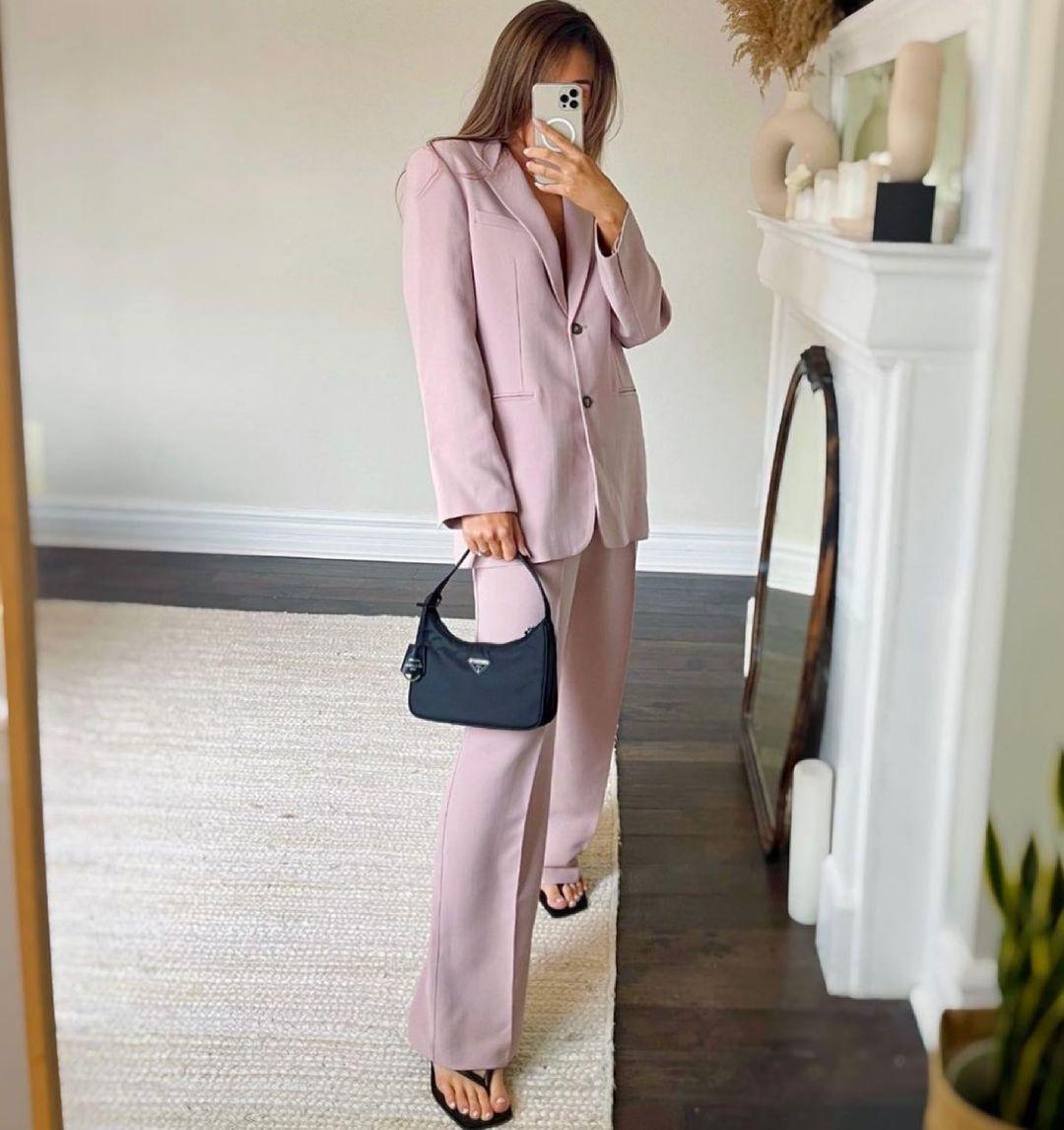 straight fit blazer with pockets de Zara sur zara.style.daily