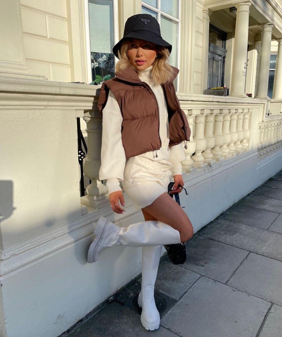 rain boots with transparent sole de Zara sur zara.style.daily