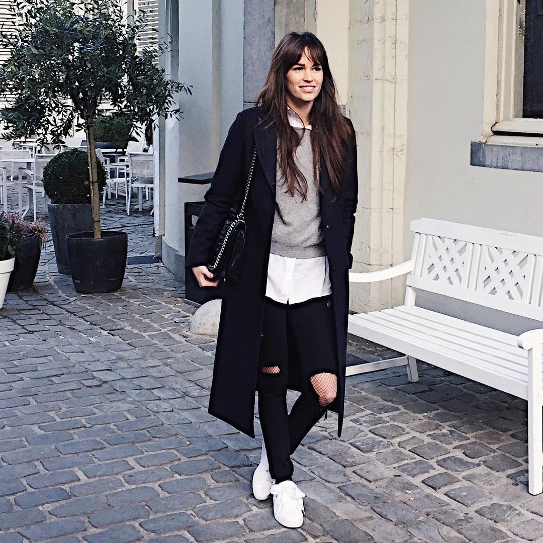sac bandoulière avec chaîne gravée de Zara sur alisontoby