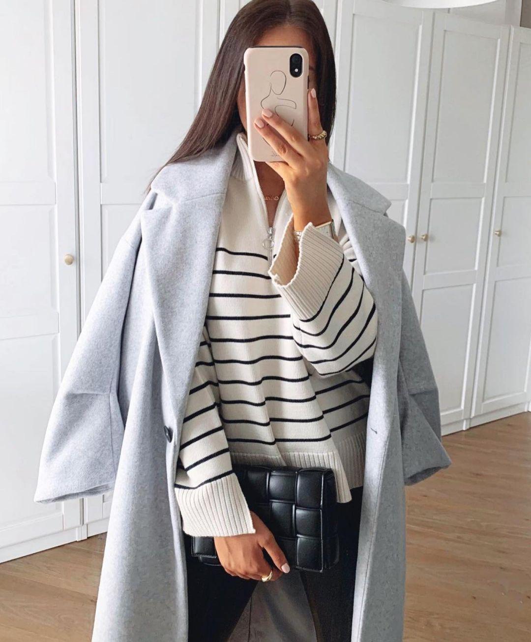 pull en maille à zip de Zara sur zara.outfits