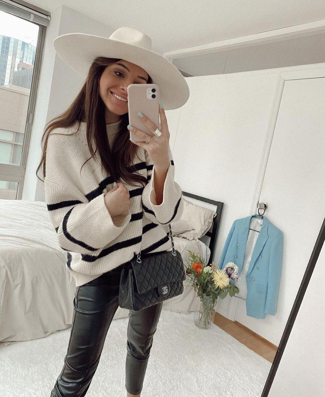 pull à rayure de Zara sur zara.outfits