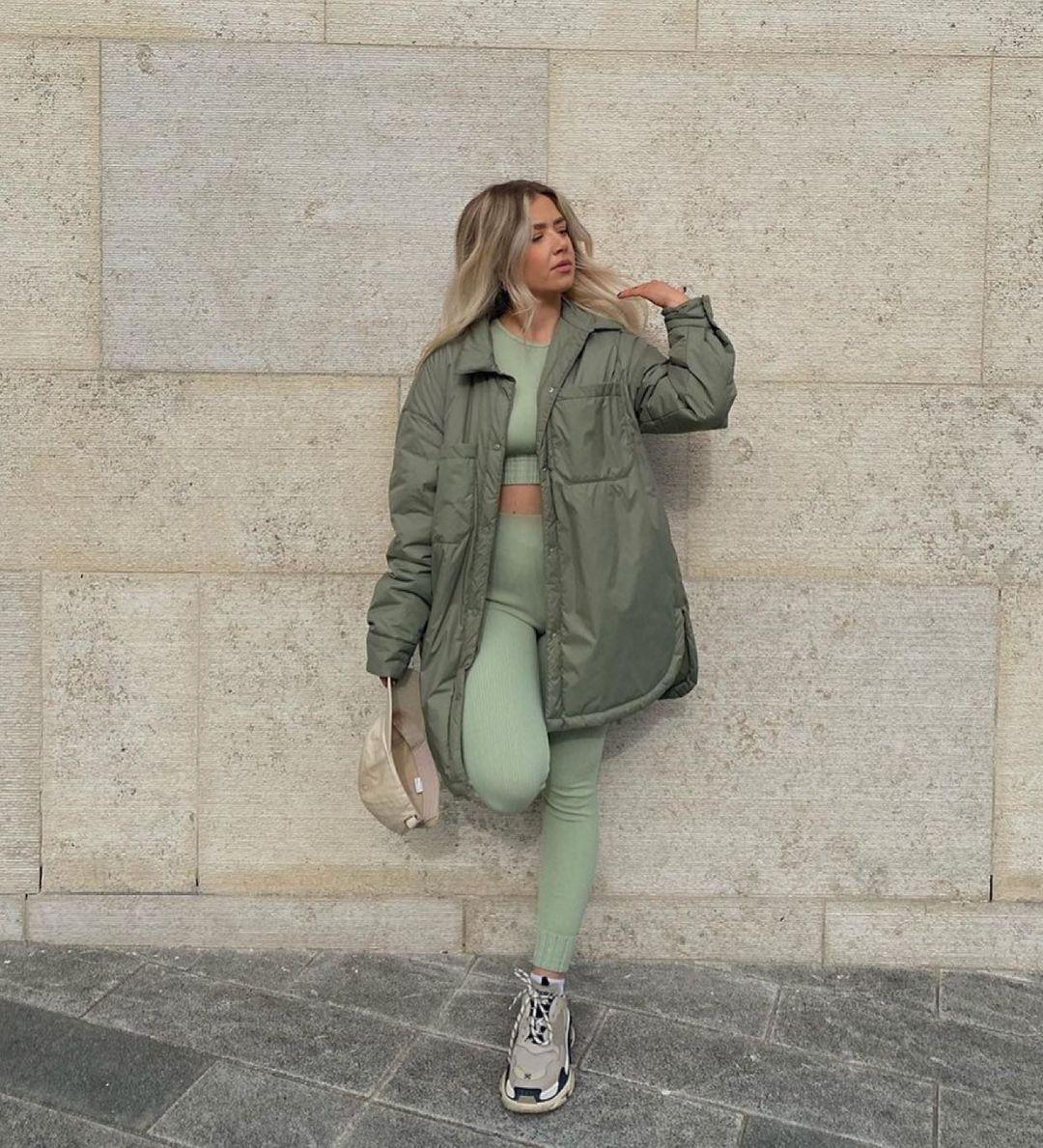 seamless leggings de Zara sur zara.style.daily