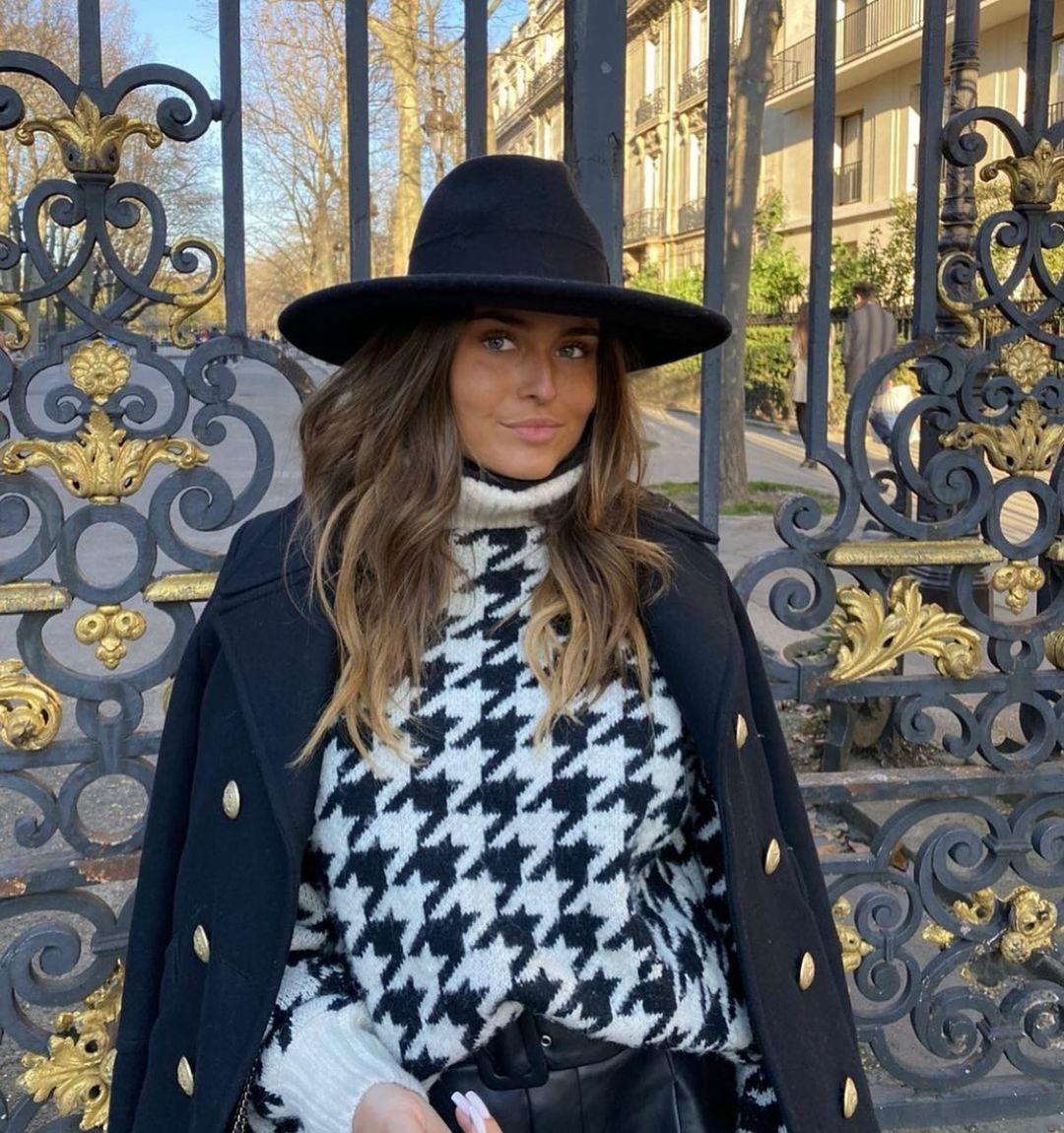 crossover breasted coat with wool de Zara sur zarastreetstyle