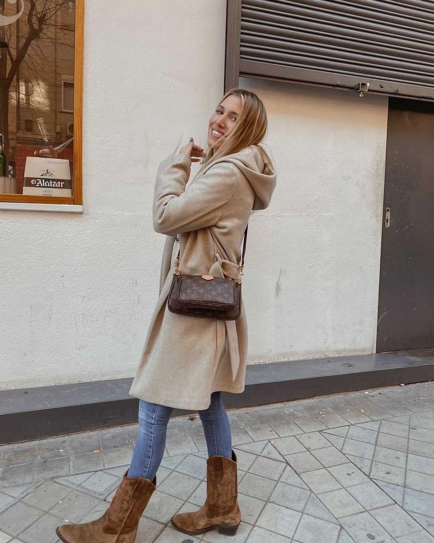 hooded coat de Zara sur zarastreetstyle