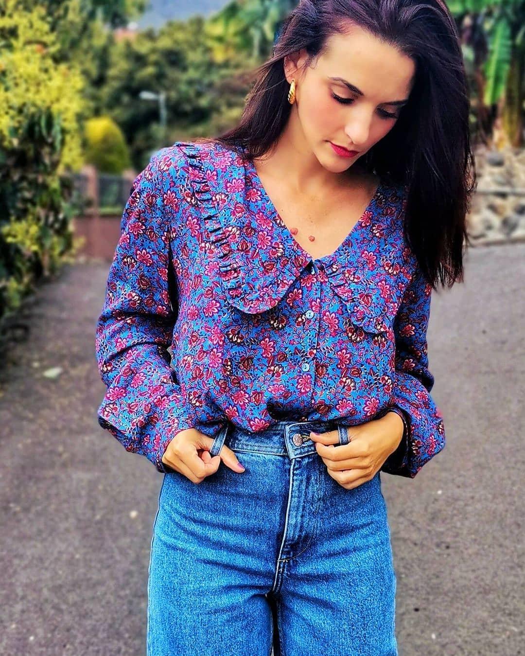 blouse greta2 de Mango sur mango.outfits