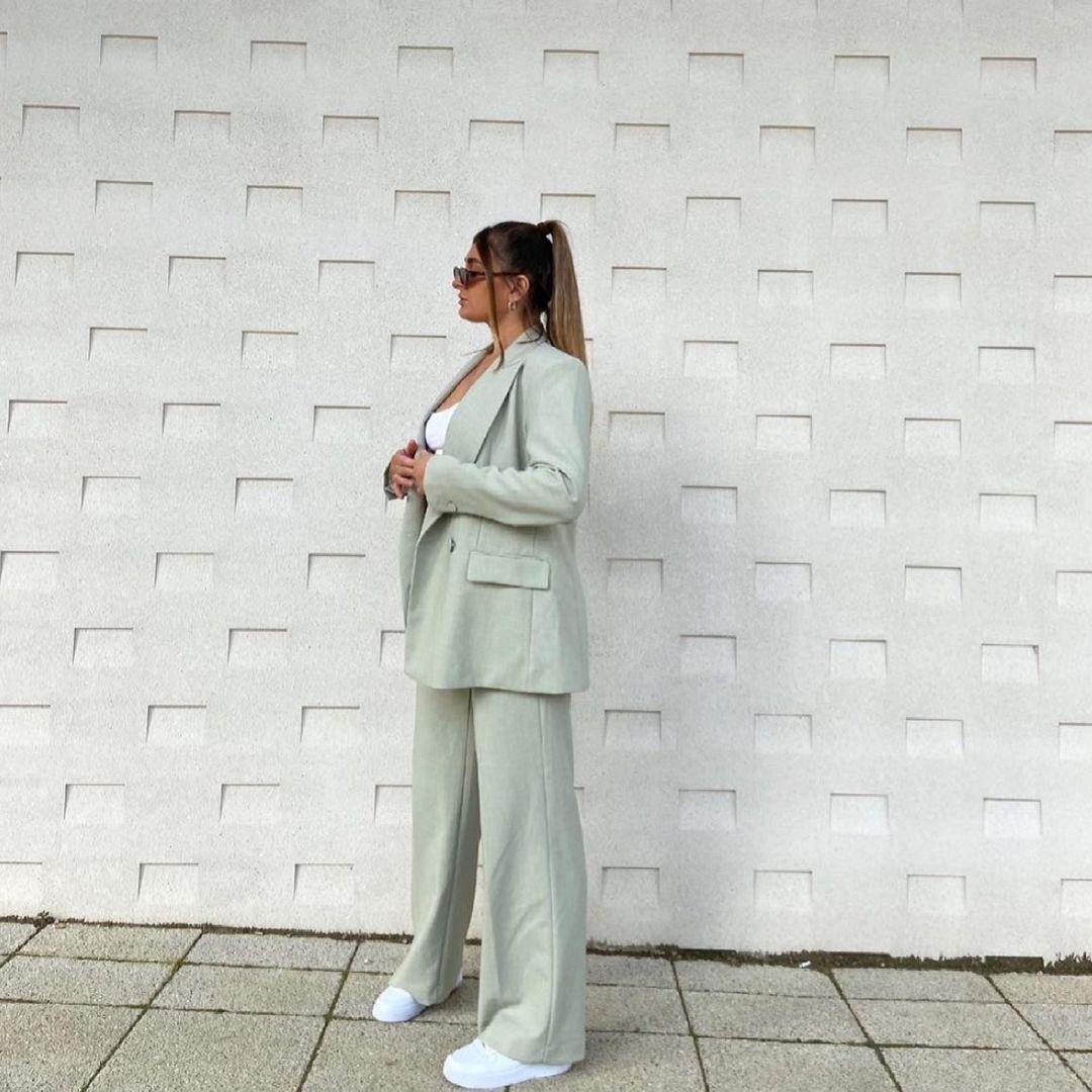 straight pants de Zara sur zara.style.daily