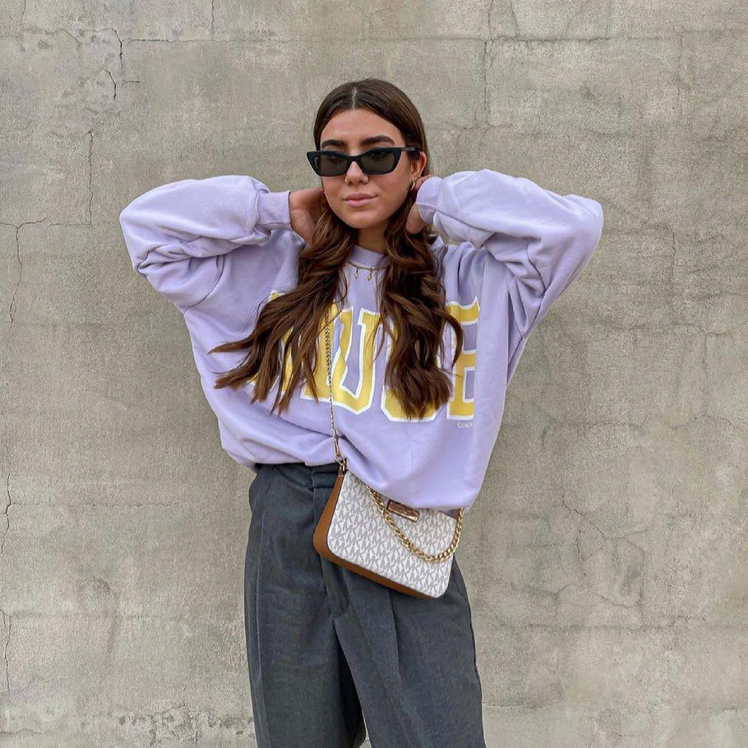 sweat à capuche varsity de Zara sur zara.outfits