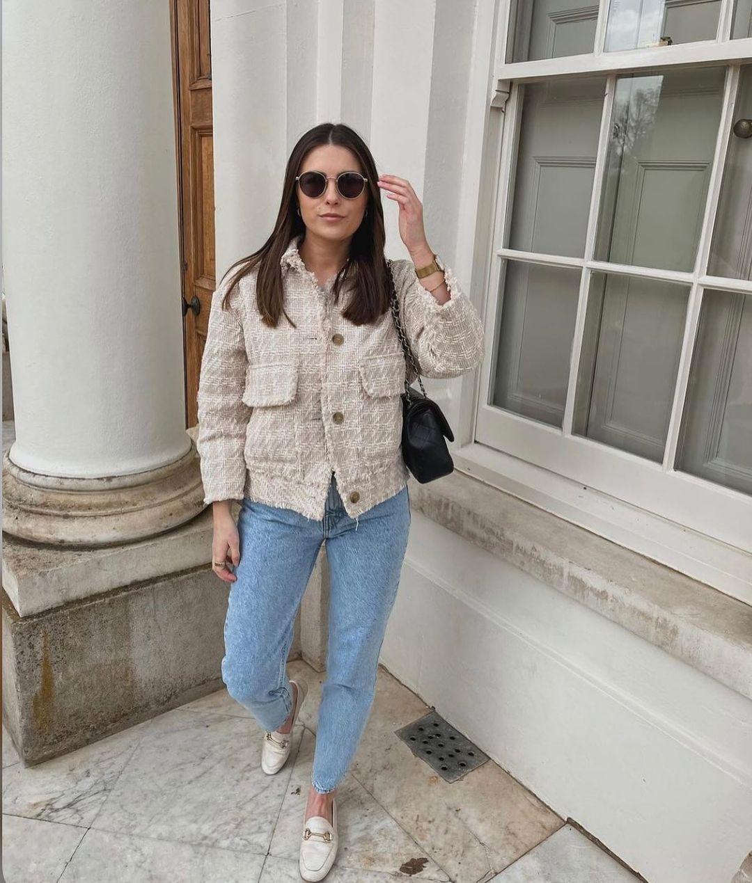 textured-weave jacket de H&M sur hm.addicted