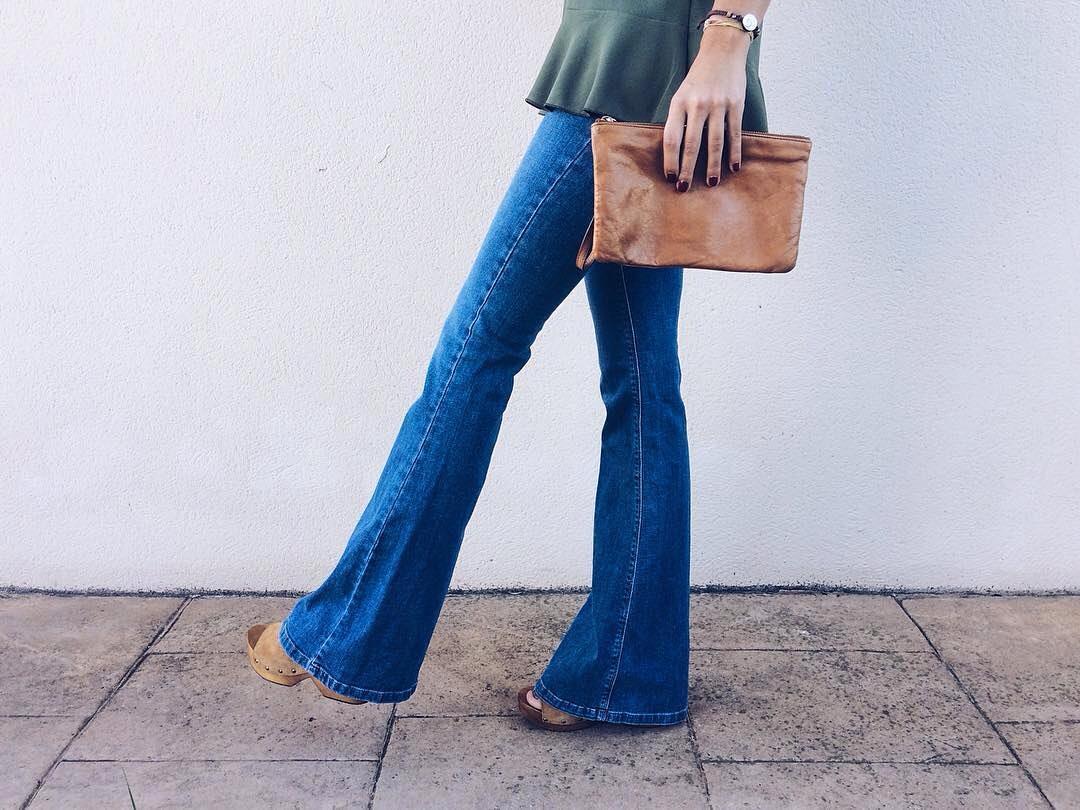 basic flare jeans de Pull and Bear sur pullandbearaddiction