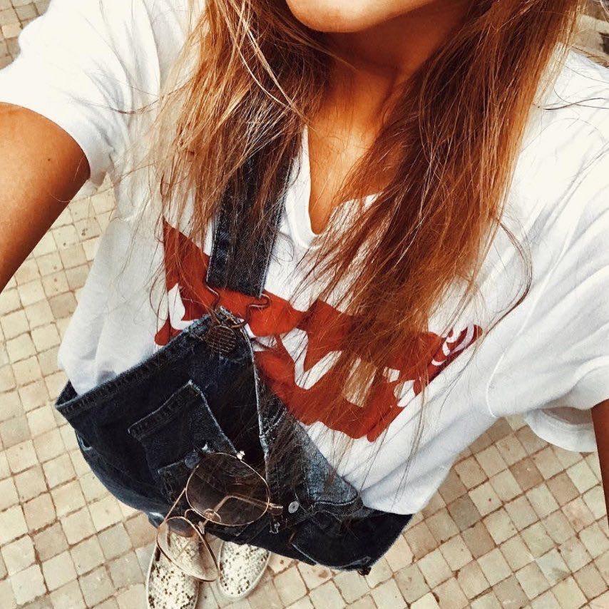t-shirt levis blanc de Les Bourgeoises sur foreverburgos3