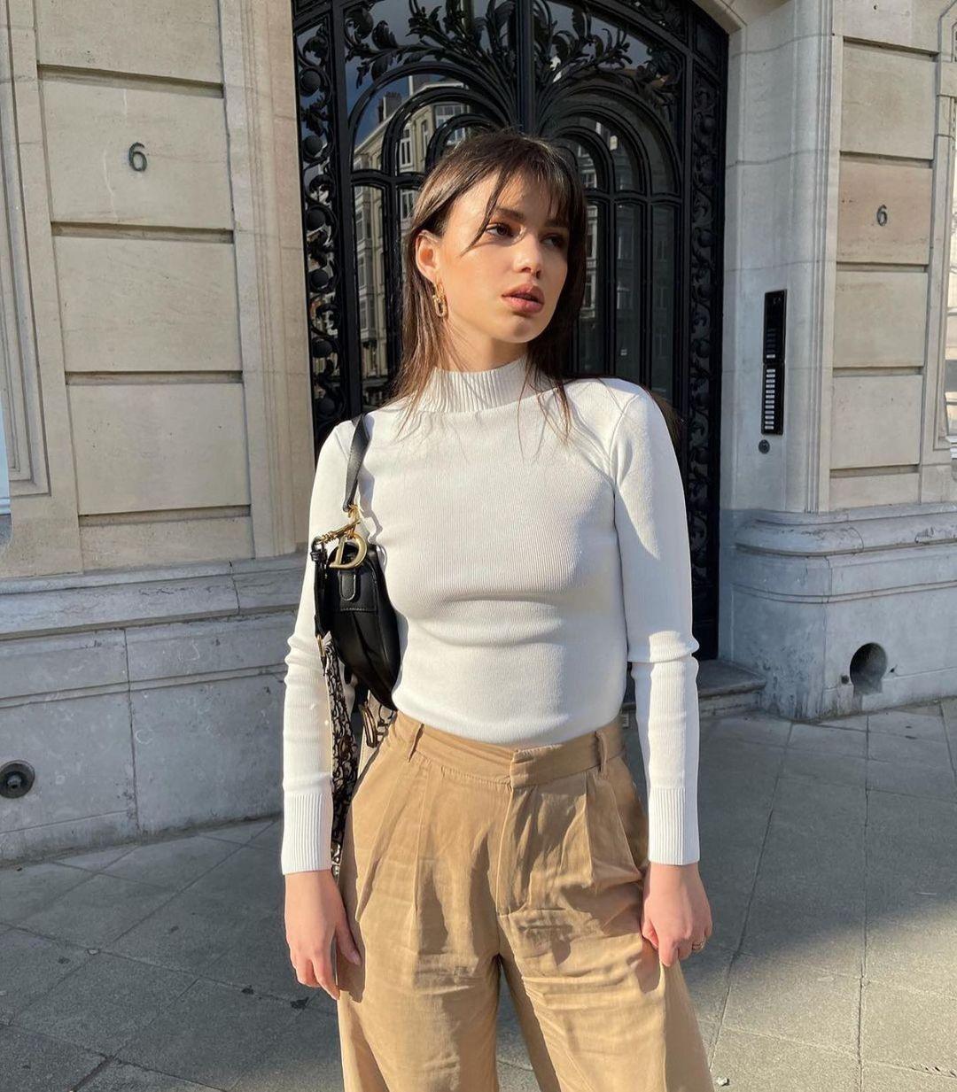 open back knit sweater de Zara sur zaraaddiction