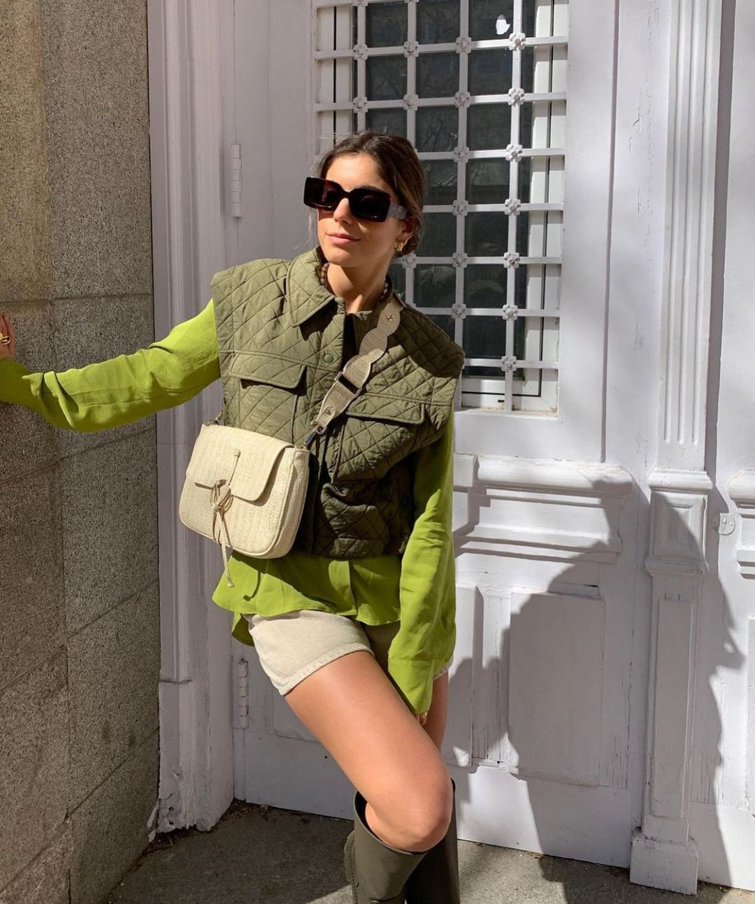 limited edition quilted sleeveless down jacket de Zara sur zarastreetstyle