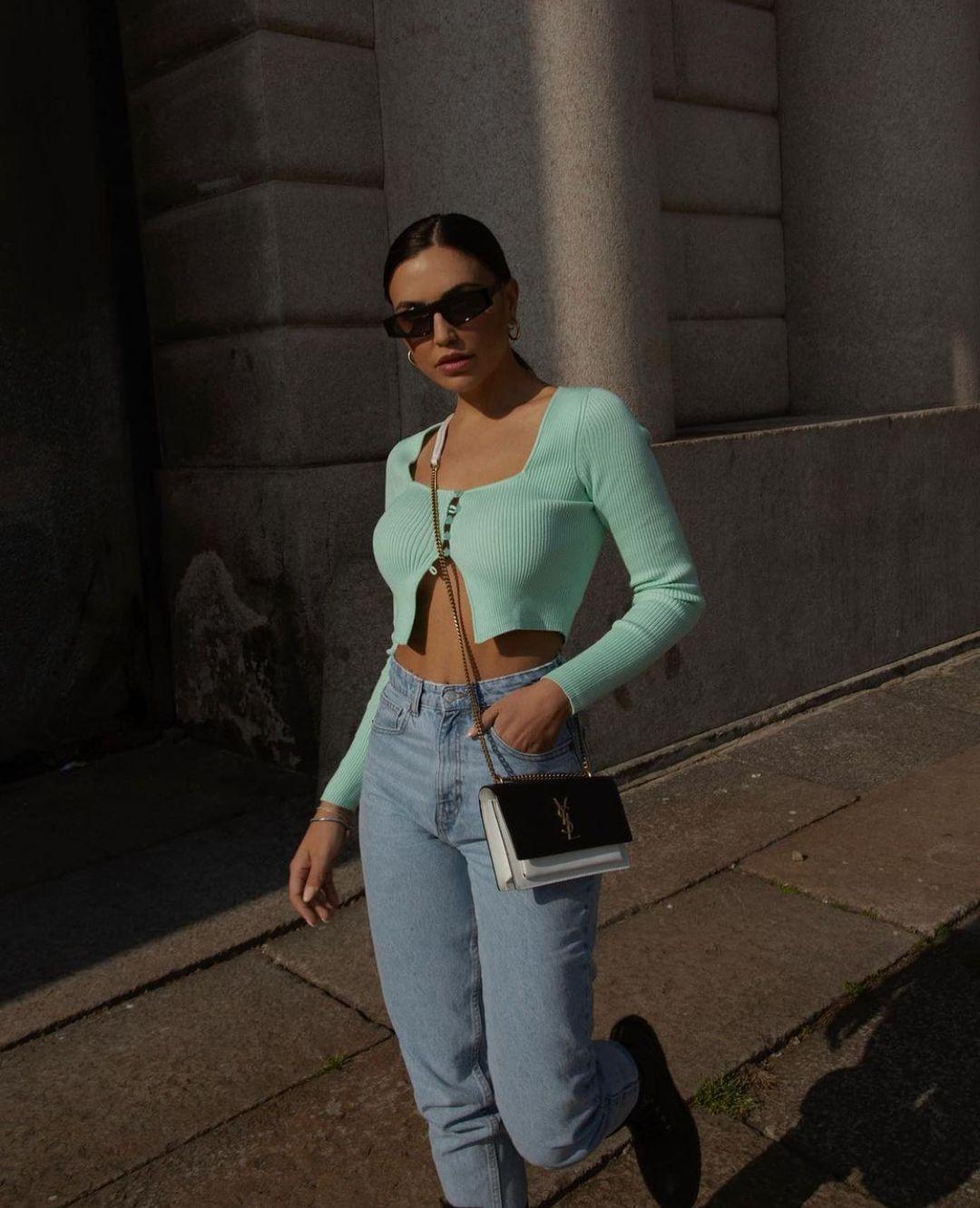 jeans z1975 high rise tapered de Zara sur zarastreetstyle