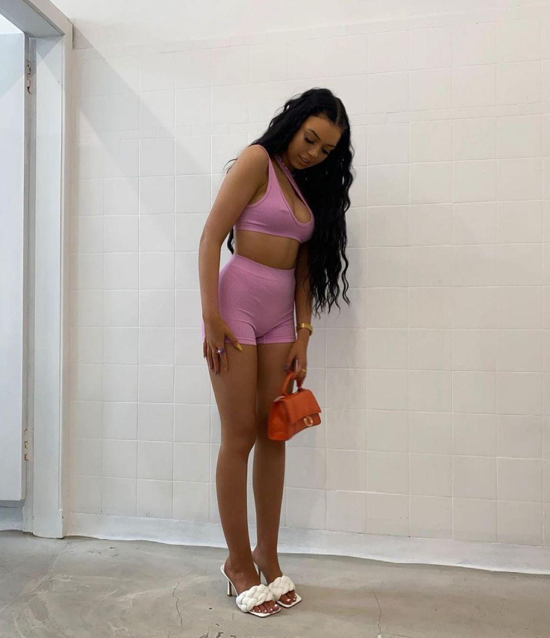seamless shorts de Zara sur zara.style.daily