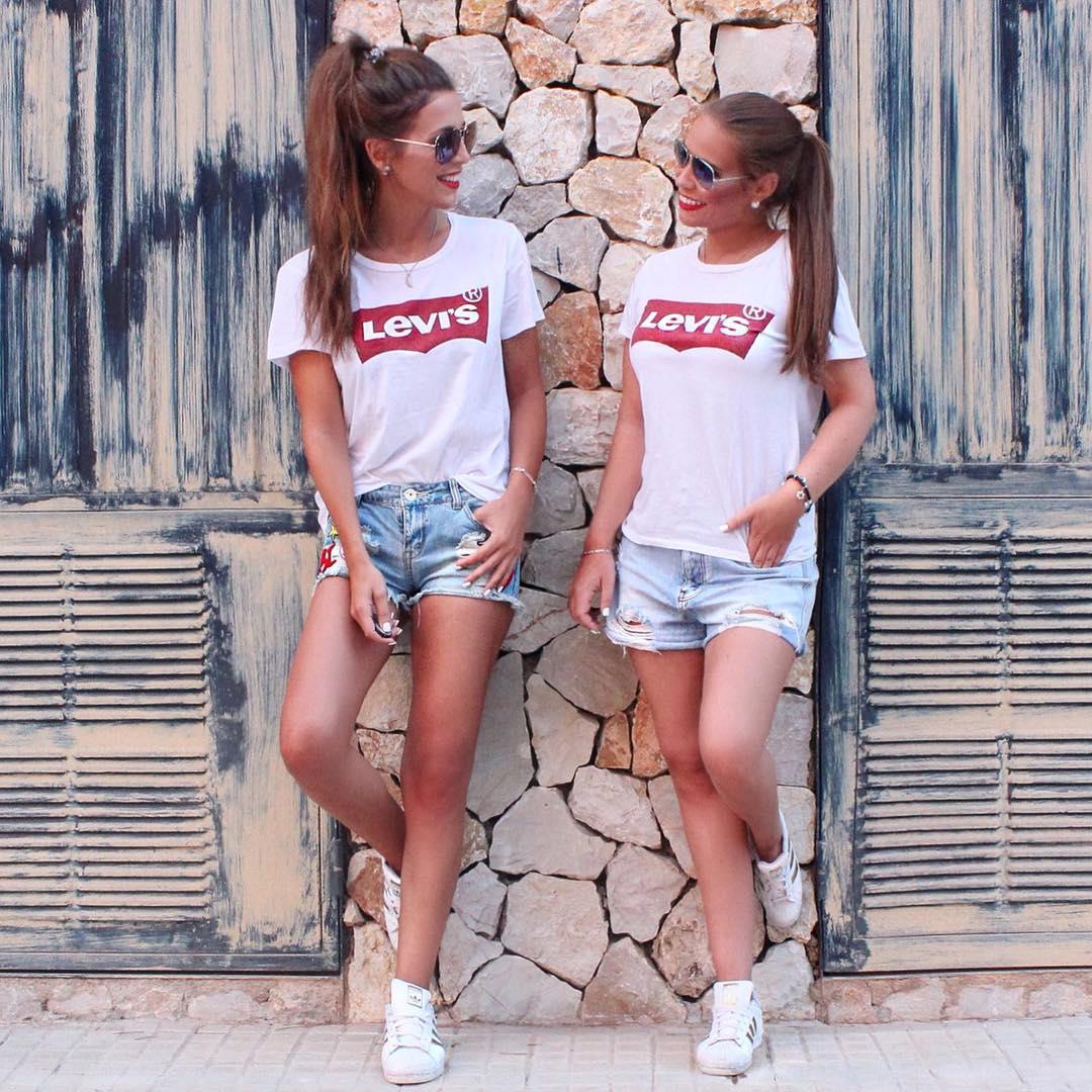 t-shirt levis blanc de Les Bourgeoises sur diana_koenig